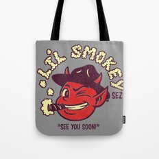Li'l Smokey Tote Bag