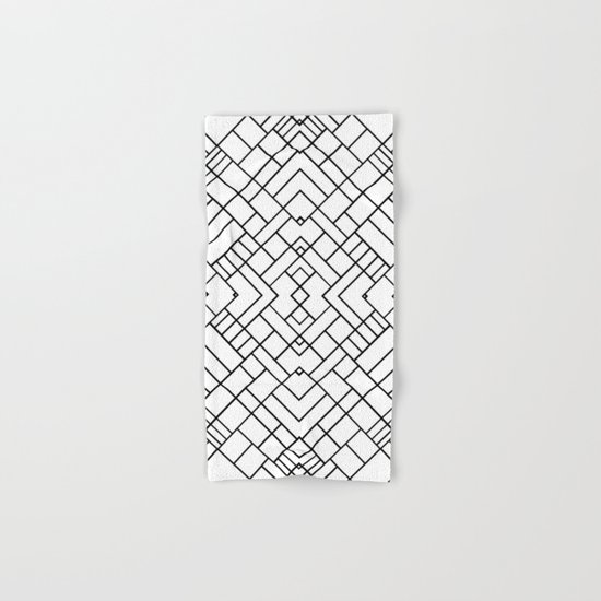 PS Grid 45 Hand & Bath Towel