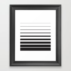 Diminishing Returns Framed Art Print