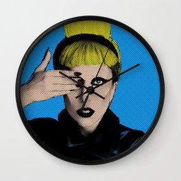 My First Photo in POP Art Wall Clock
