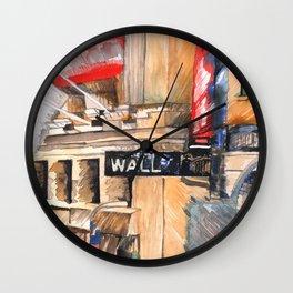 WALL ST I Wall Clock