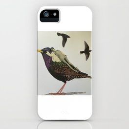 Resting on the Wings of Impatience iPhone Case