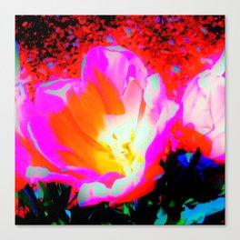 Radioactive Tulip Canvas Print