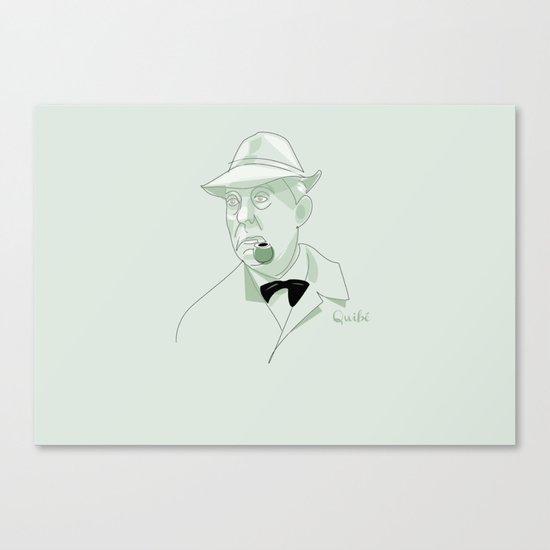 portrait: Jacques Tati Canvas Print