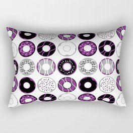 Asexual Donuts Rectangular Pillow