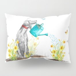 DAFFODILS AND WEIM Pillow Sham
