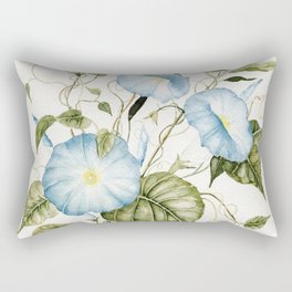Morning Glories Rectangular Pillow