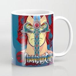 """Sight Beyond Sight"" Thunder Cats Sight Beyond Sight Liono and Sword of Omens Coffee Mug"
