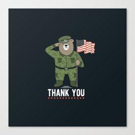 Veteran's Day Canvas Print