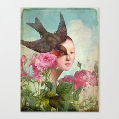 The Silent Garden Canvas Print