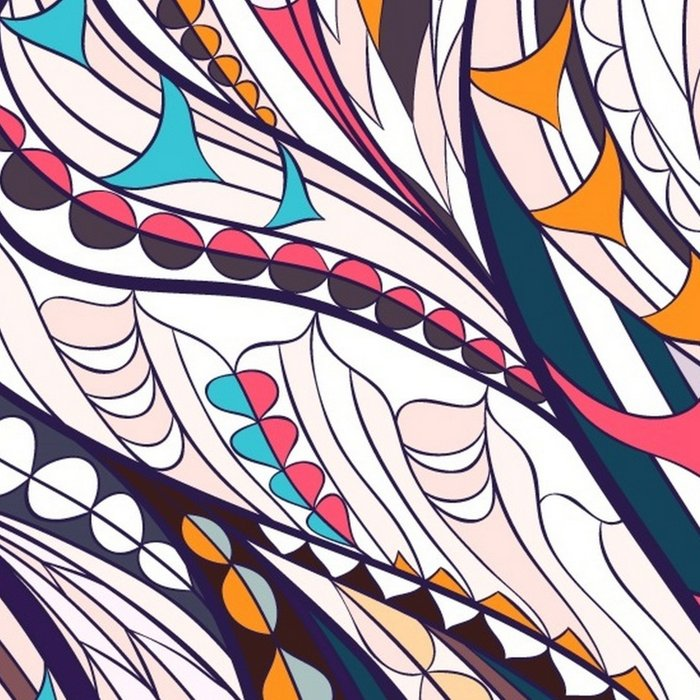 Colorful Ethnic Eagle Leggings
