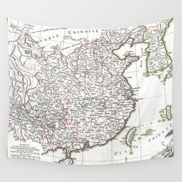 Map of China, Korea, Japan and Formosa - Bonne - 1770 Wall Tapestry