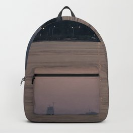 Chicago's lakefront one hazy summer morning Backpack