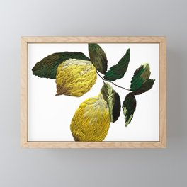 lemondrop Framed Mini Art Print