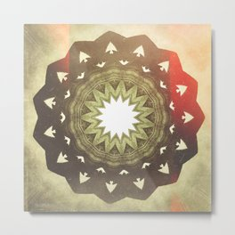 Dragon Circle Metal Print
