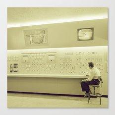 Control Center Canvas Print