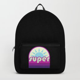 super duper ultraviolet Backpack