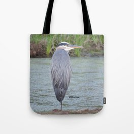 Blue Heron at Hillsboro Pond Tote Bag