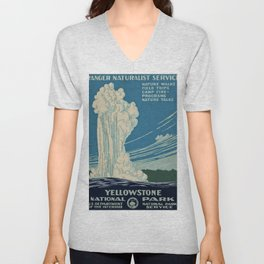 Yellowstone Works Progress Administration Unisex V-Neck