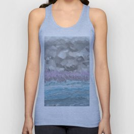 Water from Air hits Earth Unisex Tank Top