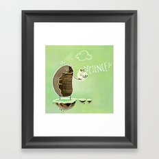 Science Bug! Framed Art Print