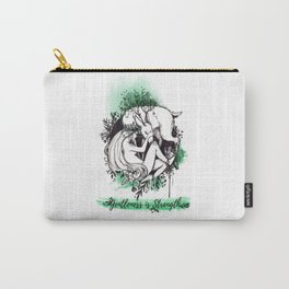 Gentleness is Strength Carry-All Pouch