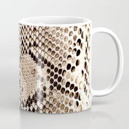 Snake skin art print Coffee Mug