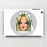 lesbian iPad Cases featuring Britney Cartoon: Like A Lesbian by Eduardo Sanches Morelli