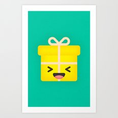 Party Present Art Print