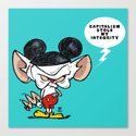 Brain of Animaniacs : Capitalism Stole My Integrity; all i want is a world domination.  by ericwirjanata