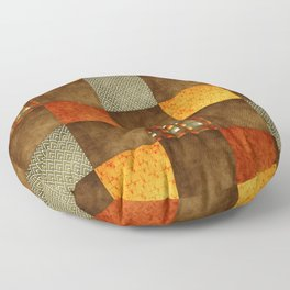 Chérissent Colors of Fall Home Decor Floor Pillow