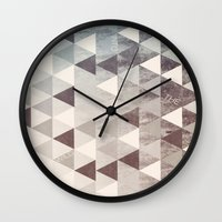 into the wild Wall Clocks featuring WILD by Truth & Beauty Design