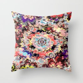 fire gate III d Throw Pillow