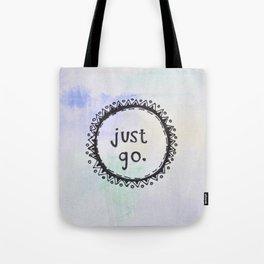 puerta project: just go  Tote Bag