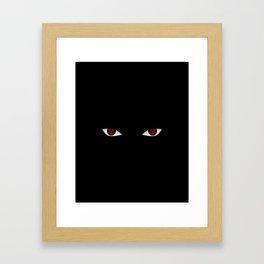 Eyes of the Avenger Framed Art Print