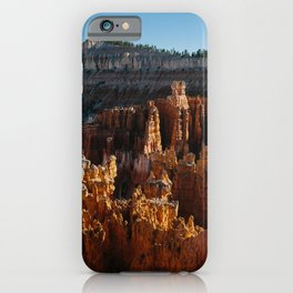 Bryce Canyon Sunset Shadows iPhone Case