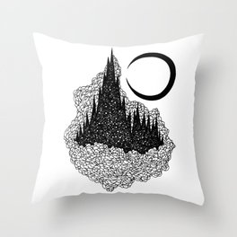 Star Towers Throw Pillow