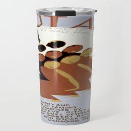 Vintage poster - Salut Au Monde Travel Mug