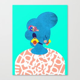 Earrings No. 2 Canvas Print