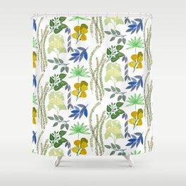 Bustan Foliage Shower Curtain