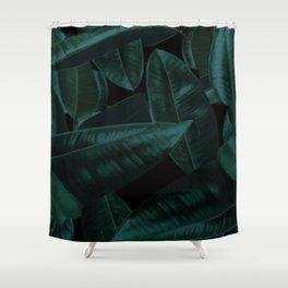 Dark Nature Shower Curtain
