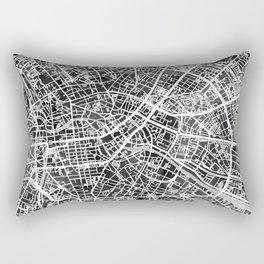 Berlin Germany City Map Rectangular Pillow