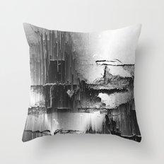 Crumbling Facade Throw Pillow