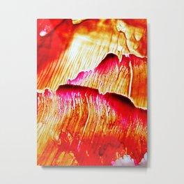 Paint Petals Metal Print
