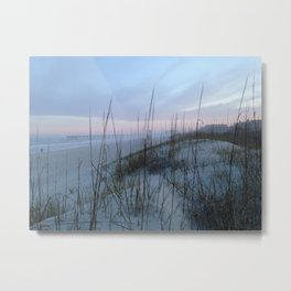 Soft sunset Metal Print