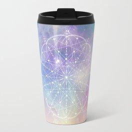 Sacred Geometry (Interconnected) Travel Mug