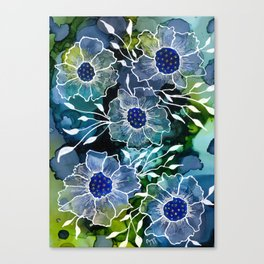 Flower abstract Canvas Print