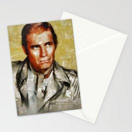 Charlton Heston by MB Stationery Cards