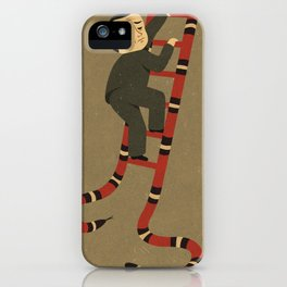 snakes and ladder iPhone Case