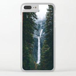Yosemite Falls - Yosemite National Park, California Clear iPhone Case